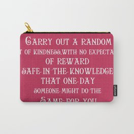 Greats of quotations2 Carry-All Pouch
