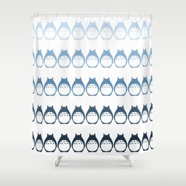 Friendly Neighbor (Ombre) Shower Curtain