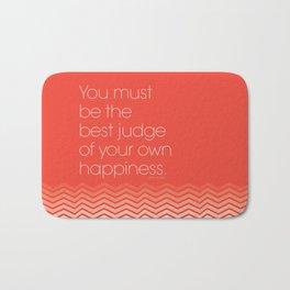 Happiness Bath Mat
