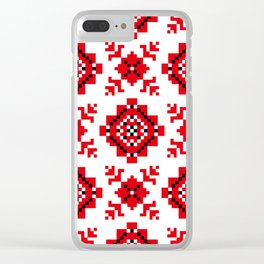 Slavonic national ornament Clear iPhone Case