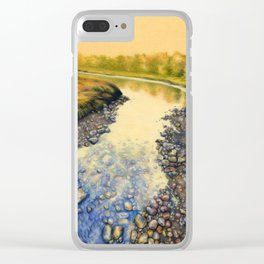 Up A Creek Clear iPhone Case