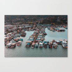 Mill Valley Residences Canvas Print