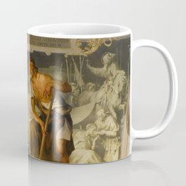 With the grace of God and the effort of will we obtain the excellence of virtue Coffee Mug