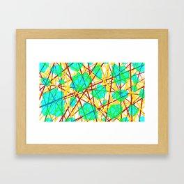 Neuronic Framed Art Print