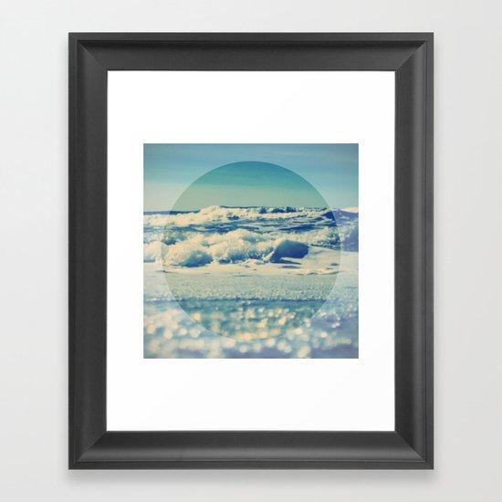 Sea Balance Framed Art Print