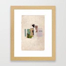 new setting Framed Art Print