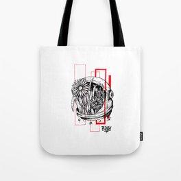 Floralnaut Tote Bag