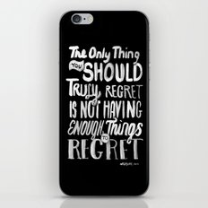 TRULY REGRET iPhone & iPod Skin