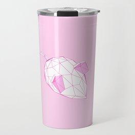geometric mighty mouse Travel Mug