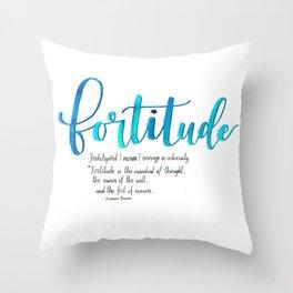 Fortitude Throw Pillow