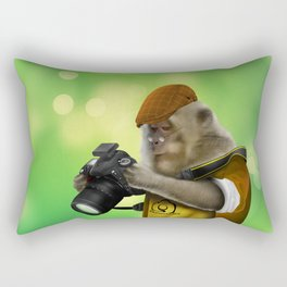 Photographer of the apes iPhone 4 4s 5 5c 6 7, pillow case, mugs and tshirt Rectangular Pillow