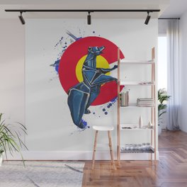 CO Standing Bear- Wild World Of Paper Series Wall Mural