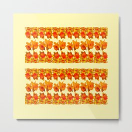 SPRING GOLDEN DAFFODILS MODERN ART DESIGN Metal Print