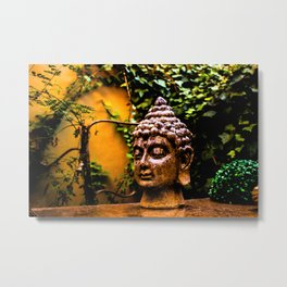 Interaction with an accomplished teacher Metal Print