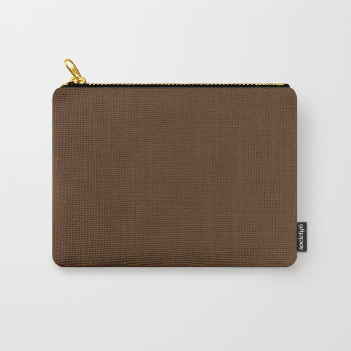 Bridge ~ Chocolate Carry-All Pouch