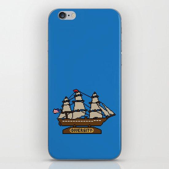 Anchor Pixel iPhone & iPod Skin