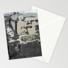 Harbour Abstract - JUSTART (c) Stationery Cards