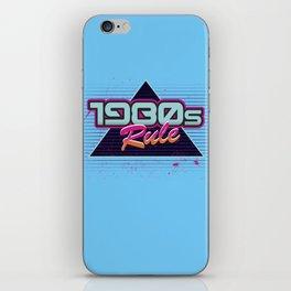 1980s Rock iPhone Skin