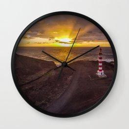 Faro de Punta Sardina Wall Clock