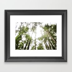 looking up . ii Framed Art Print