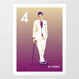El Catrin Art Print