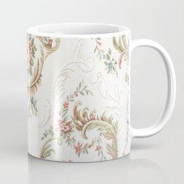 Antique fabrique wall paper Coffee Mug