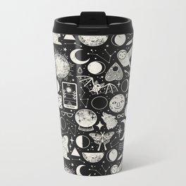 Lunar Pattern: Eclipse Metal Travel Mug