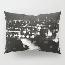 Los Angeles cityscape. L.A. Noir Pillow Sham