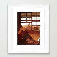 enjolras Framed Art Prints featuring Enjolras by rdjpwns
