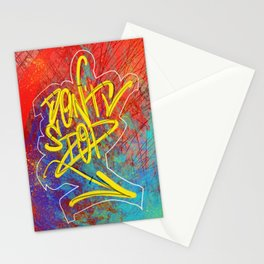 DontStop - Urban Art Stationery Cards