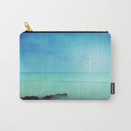 Silent Mediterranean Sea Carry-All Pouch