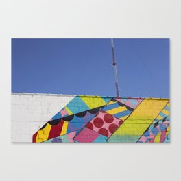 Abstract Broadcast Canvas Print