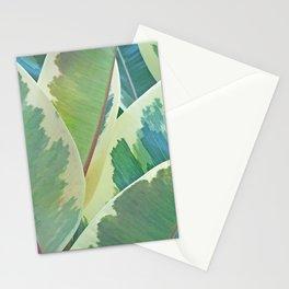 Ficus Elastica Design Stationery Cards