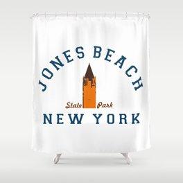 Jones Beach - New York. Shower Curtain