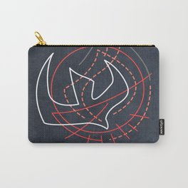 Holy Spirit minimal contemporary illustration Carry-All Pouch