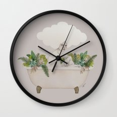 Hydra Wall Clock