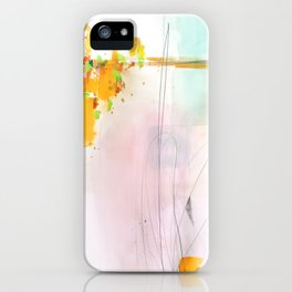 Abstract Mirage iPhone Case