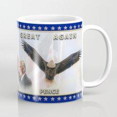 MAKE AMERICA GREAT AGAIN - AMERICAN BALD EAGLE Mug