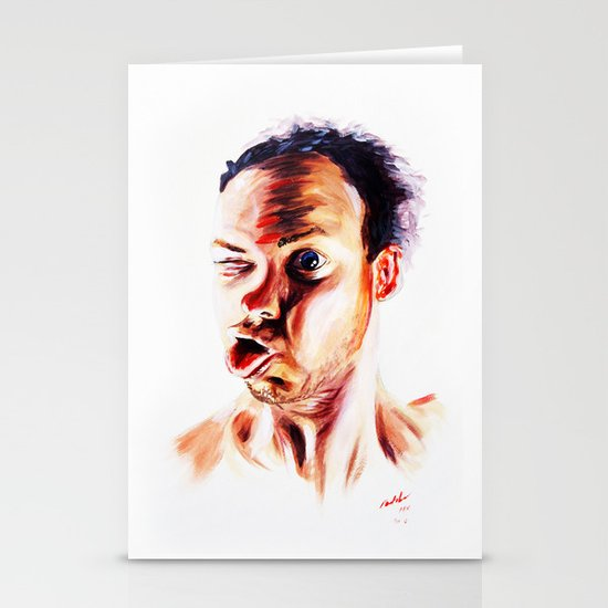 Face Stationery Cards