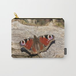 Peacock Butterfly in the late March sunshhine Carry-All Pouch