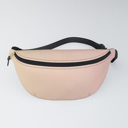 Sunset Pink Coral Gradient Fanny Pack