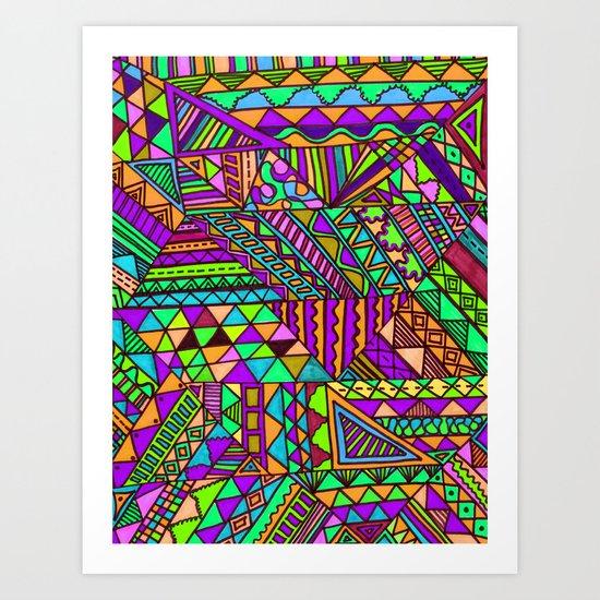 Wild One Three Art Print