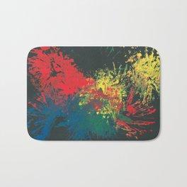 Impulsive Color Splash Toddler Art Bath Mat
