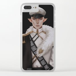 Wolf general Clear iPhone Case