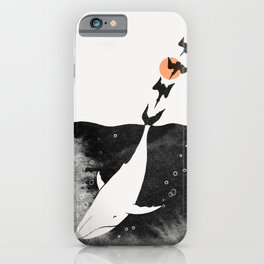 Dive into Happiness iPhone Case