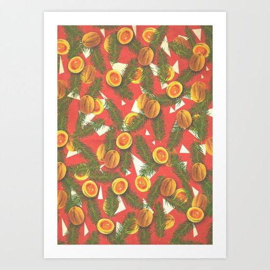 Summer Melon Art Print