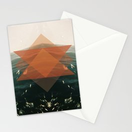 Triangular life Stationery Cards