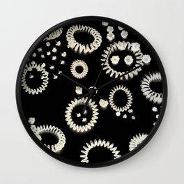 Rings of fire Wall Clock