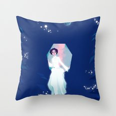 Forever one with the Force Throw Pillow