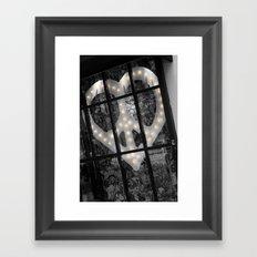Peace & Love NYC Framed Art Print
